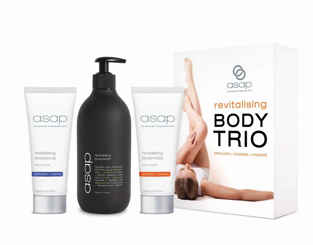 asap revitalising body trio DHBeautybox pack
