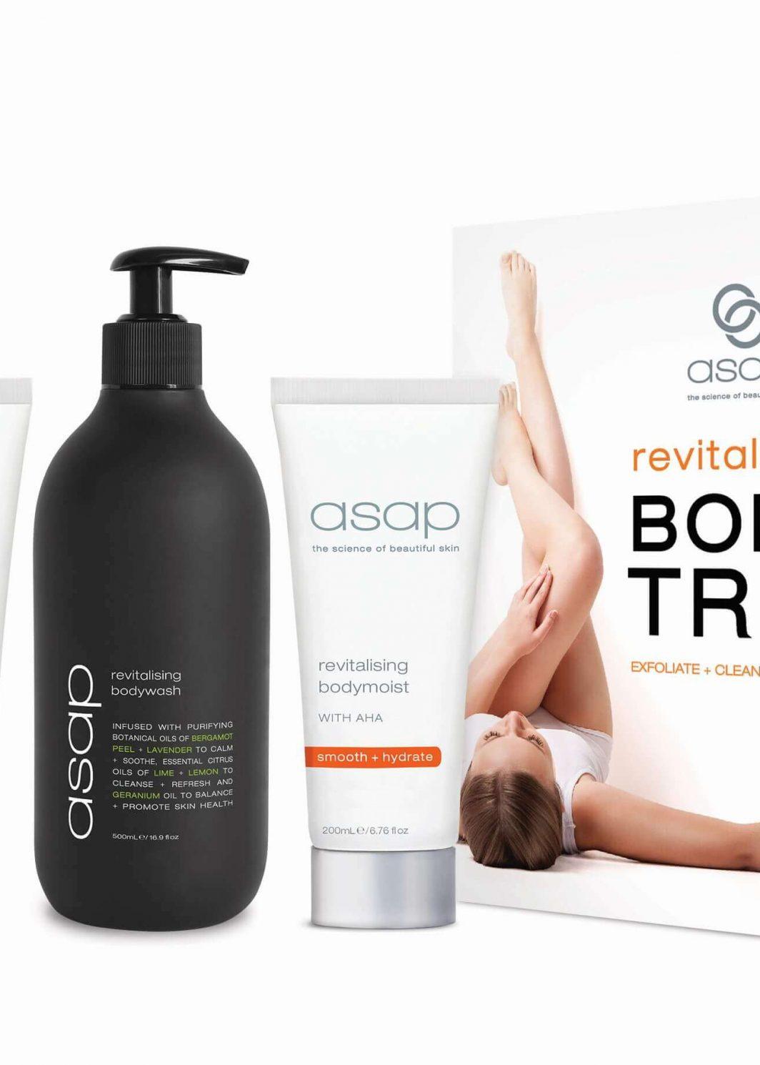 asap revitalising body trio pack DHBeautybox