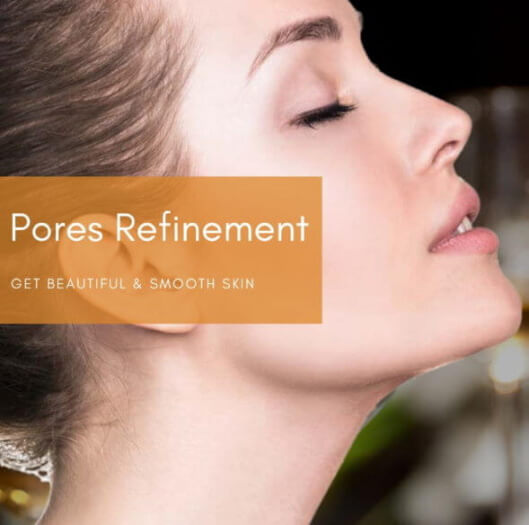 pores refinement